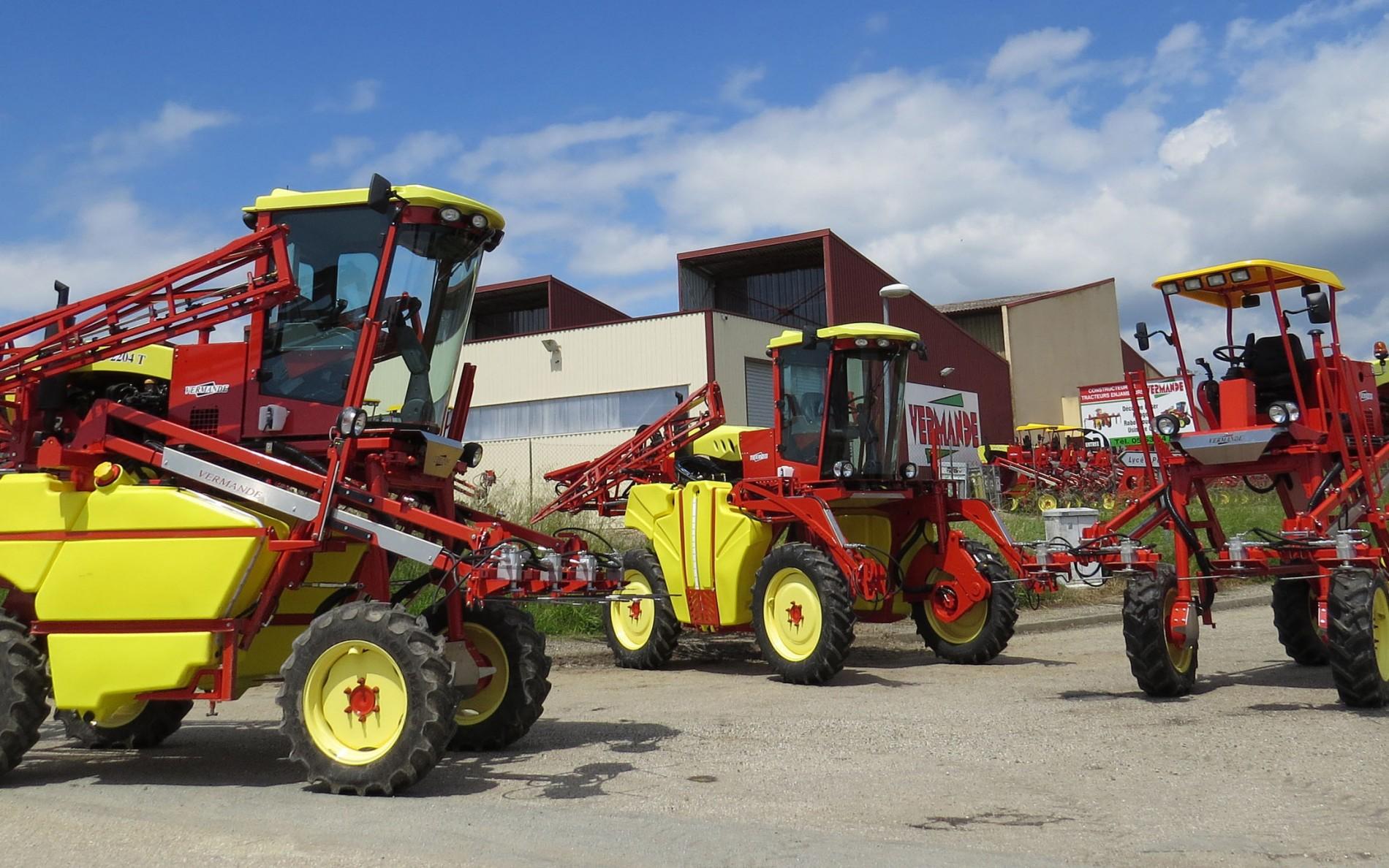 Machines agricoles Vermande