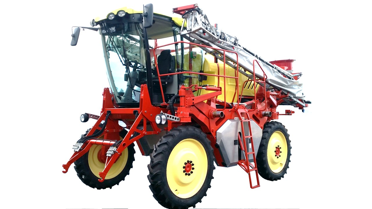 HIGH CLEARENCE TRACTOR SPIDER S2000